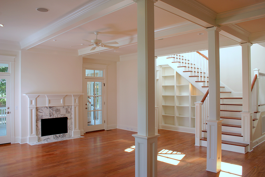 House with hardwood timber flooring in Sydney