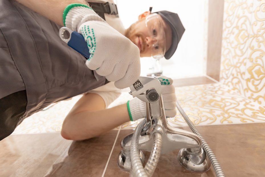 Plumber in Upper Hutt while working